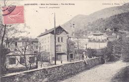 CPA 38 @ SAINT EGREVE - HOTEL Des Terrasses Désirat P. Proriétaire - Vue Des Brieux En 1903 - France