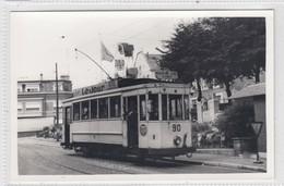 Verviers. Foto 1962, Geen Postkaart. Tram 2 Rechain, Dison, Stembert. - Verviers