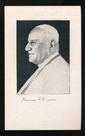 PAUS JOANNES XXIII   ROME 1881   - 1963   2 SCANS - Décès