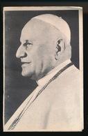 PAUS JOANNES XXIII   SOTTO IL MONTE 1881   - 1963   2 SCANS - Décès