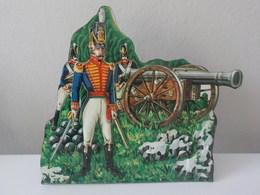 Soldat Relief Métal Waterloo Ufficiale Ed Artiglieri Artiglieria Reale Gran Bretagna Grande Bretagne - Uniforms