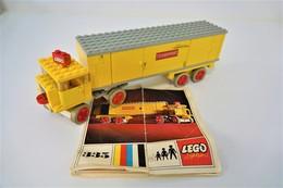 LEGO - 335 Yellow Transport Truck - Original Lego 1967 - Vintage - Catalogs