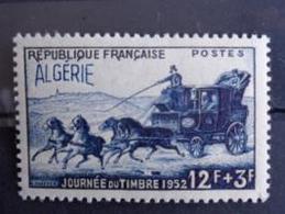 ALGERIE 1952 - Y&T N° 294 ** - JOURNEE DU TIMBRE - Argelia (1924-1962)