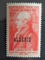 ALGERIE 1954 - Y&T N° 308 ** - JOURNEE DU TIMBRE - Argelia (1924-1962)