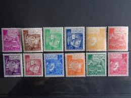 ALGERIE 1964-65 N° 389 à 399 ** - SERIE COURANTE - Algérie (1962-...)