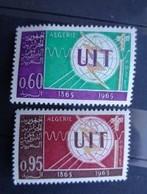 ALGERIE 1965 N° 409 & 410 ** - CENTENAIRE DE L' U.I.T - Algérie (1962-...)