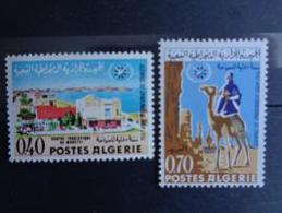 ALGERIE 1967 N° 444 & 445 ** - ANNEE INTERN. DU TOURISME - Algérie (1962-...)