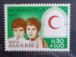 ALGERIE 1967 N° 446 ** - CROISSANT ROUGE - Algérie (1962-...)