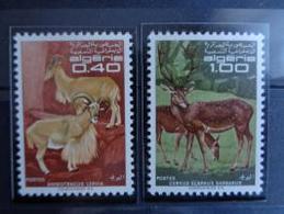 ALGERIE 1968 Y&T N° 477 & 478 ** - ANIMAUX DIVERS - Algérie (1962-...)