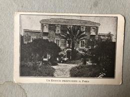 NAPOLI  ISTITUTO TROPEANO PONTICELLI  UN EDIFICIO PROSPICIENTE IL PARCO  1932 - Napoli