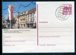 """Bundesrepublik Deutschland / 1988 / Bildpostkarte """"Alzey"""" Mit Bildgleichem Stempel (12286) - BRD"""