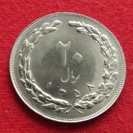 Iran 20 Rials 1979 / SH 1358 KM# 1236  Lt 750   Irão Persia Persien - Iran