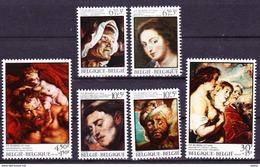 België 1976 Nr 1816/21 **, Zeer Mooi Lot Krt 3566 - Collections (sans Albums)