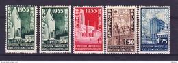 België 1934 Nr 386/89 ** ,zeer Mooi Lot Krt 3508, KOOPJE ,   Zie Ook Andere Mooie Loten - Timbres