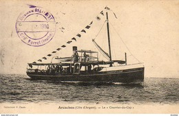 D33  ARCACHON  Le Courrier Du Cap   ..... - Arcachon