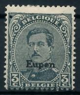 BELGISCHE BES.-POST EUPEN Nr 15 Ungebraucht X8C344A - Besetzungen 1914-18