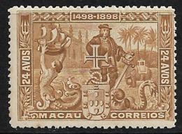 Macao Macau – 1898 Sea Way To India - Nuevos