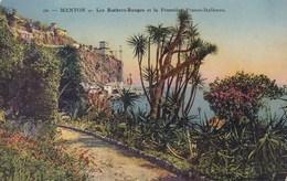 Menton, Les Rochers Rouges Et La Frontière Franco Italienne (pk58824) - Menton