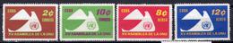 1961 - CUBA - Mi.  Nr. 713-716A - NH - (UP131.31) - Cuba