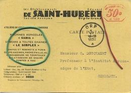 Orp-le-grand :  De Saint-Hubert : Ateliers De Constructions & Fonderie (  2 Scans ) - Belgique