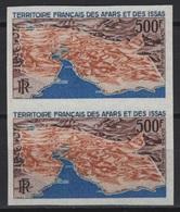Afars Et Issas (1968)  Yv. Av. 59 - Pair /  Cartes - Maps - NON DENTELE - IMPERFORATED - Aardrijkskunde