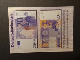 Euro-Banknote 20 € (gelaufen 2000); H24 - Banken