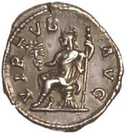IMPERIO ROMANO. ALEJANDRO SEVERO. DENARIO. VIRTUS. PLATA. ANCIENT ROMAN COIN - 4. La Dinastía De Los Severos (193 / 235)