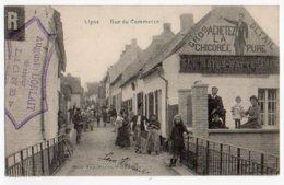 Ligne Ath Rue Du Commerce (Auguste Horlait Brasseur) Ed Eug Mavez - Ath