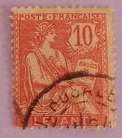 LEVANT BUREAUX FRANÇAIS YT 14 OBLITÉRÉ ANNÉE 1902/1920 - Used Stamps