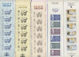 Lot 23 CARNETS TIMBRES Entre 1986 Et 1995 - Valeur Faciale= 354f Ou 54€ - Ongebruikt