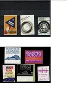 Vignette Automobile Auto Voiture Salon  Mondial - Commemorative Labels