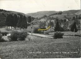 Les Vilettes : La Route De Lierneux Et Vallée De La  Lienne    1980  (  Format 15 X 10.5 Cm ) - Zonder Classificatie