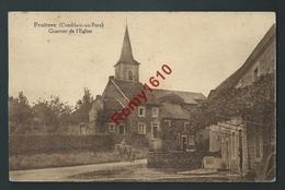 Fraiture (Comblain-au-Pont) - Quartier De L'Eglise. Animée, 2 Scans. - Comblain-au-Pont