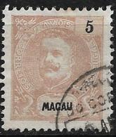 Macao Macau – 1903 King Carlos 5 Avos - Macao