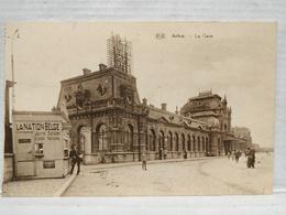 Rare. Arlon. La Gare. Kiosque à Journaux. La Nation Belge - Aarlen