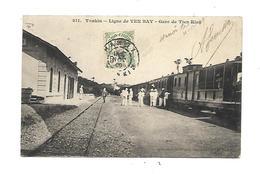 Tonkin Ligne De Yen Bay  Gare  De Tien Kien - Viêt-Nam