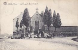 Ciney La Chapelle Saint-Hubert Circulée En 1912 - Ciney