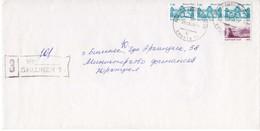Registered Mail: Kyrgyzstan, 03.2003. - Kyrgyzstan