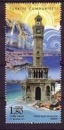 2017 TURKEY HISTORICAL CLOCK TOWERS MNH ** - Neufs