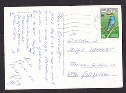 Austria: PPC Picture Postcard, 1988, 1 Stamp, Bird, WWF Panda Logo (minor Crease) - 1981-90 Brieven
