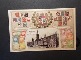 Münchner Briefmarkentage 2003 Erinnerungskarte (nicht  Gelaufen 2003); H24 - Briefmarken (Abbildungen)