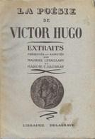 Livre ,  La Poésie  De Victor Hugo - Poésie
