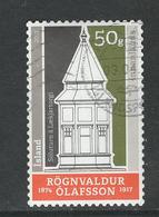 Ijsland, Yv 1444 Jaar 2017, Gestempeld - 1944-... Republique