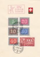 Schweiz Gedenkblatt 1945 - Schweiz