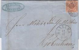 Danmark Cover 1856 - 1851-63 (Frederik VII)