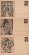 Ceskoslovensko 3 Postkarten 50-60 - Tschechoslowakei/CSSR