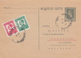 Bulgary Privat  Postkarte 1932 - 1909-45 Königreich