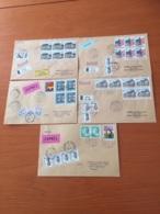 +++ Sammlung 5 Briefe Luxemburg + Porto France +++ - Briefmarken