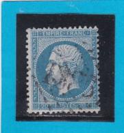 N° 22  GC  1385   EINVILLE  / 25 - MEURTHE  - REF 14116 + Variété - 1862 Napoleon III