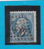 N° 22  GC  1386   ELBEUF  / 74 - SEINE INFre  - REF 14116 - 1862 Napoleon III